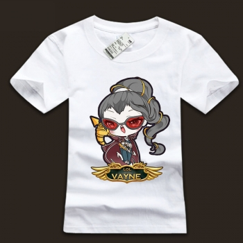 100% Cotton Mens League Of Leagends LOL Vayne T-shirts