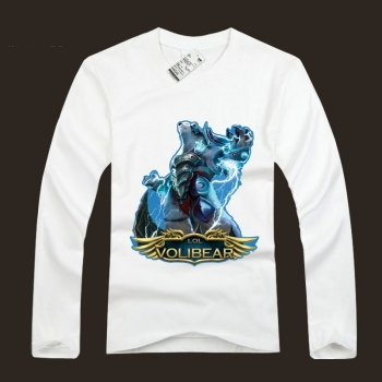 LOL league of leagends Volibear The Thunder's Roar TShirts