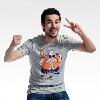 Dragon Ball Master Roshi T-shirts For Young Man