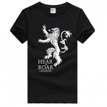 Game of Thrones House Lannister Golden Lion Tshirts