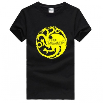 Game of Thrones House Targaryen Three-headed Dragon T-shirts