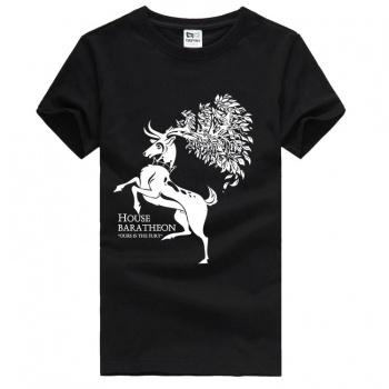 House Baratheon Rampant Stag Tees Game of Thrones Tshirts