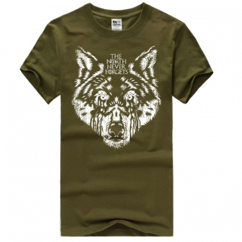 House Stark Head of Direwolf T-shirts