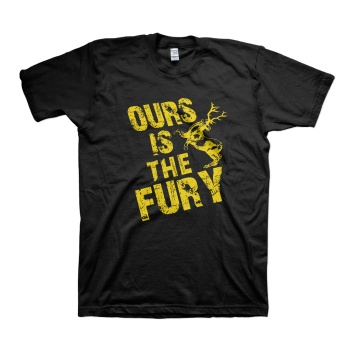 """House Baratheon """"Ours is the fury"""" T-shirts"""
