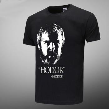 Game of Thrones Hodor Black Tshirts