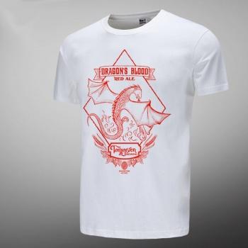 2016 House Targaryen Red Dragon White T-shirts