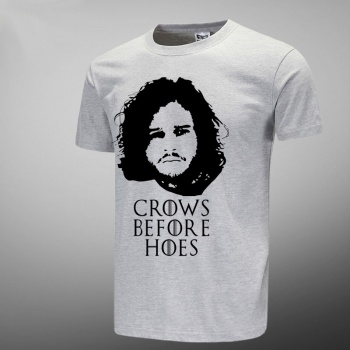 Cool Game of Thrones Jon Snow Gray Tshirts