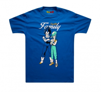 Dragon Ball Vegetas Family T-shirts For Boys