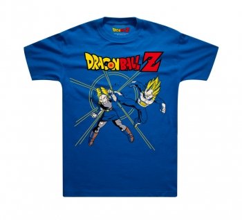 Dragon Ball Vegeta VS Android 18 T-shirts For Young Man