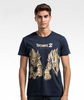 Dragon Ball T-shirts Wukong and Vegeta Shirts For Boys