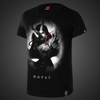 Defense of Ancients DOTA 2 Queen of Pain T-shirts For Young Mens