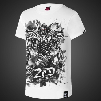 LOL Zed Master of Shadows Ink White Tshirts