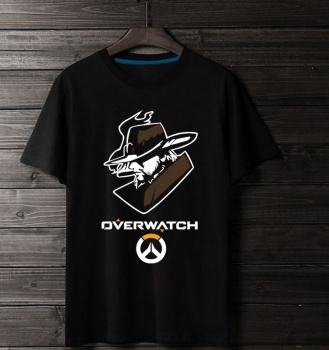 Cool Over Watch Mccree Black T Shirt