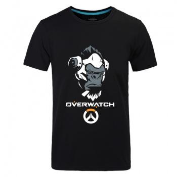 Overwatch Winston 3XL Unisex Black Tshirt