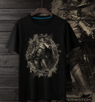 Overwatch Hero Tees OW Mccree 3XL T Shirt