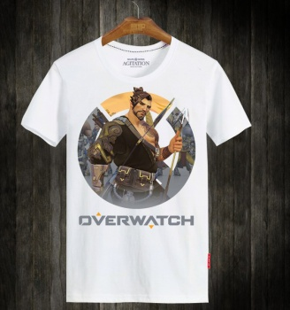 Overwatch OW Hanzo Hero Cotton Tees