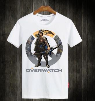 Cool OW Hanzo Hero Tshirt Cs Go Overwatch Tees