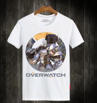 Overwatch Reinhardt Hero Plus Size T Shirts