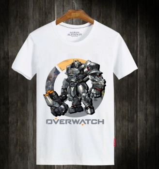 Overwatch OW Reinhardt Short Sleeve Shirts