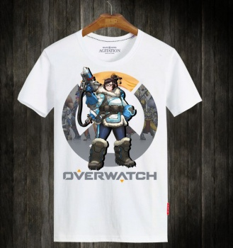 Overwacht OW Mei Hero Tee Shirt For Boys and Girls