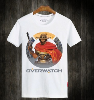 Overwatch Csgo Hero Tees Cool OW Mccree T Shirt
