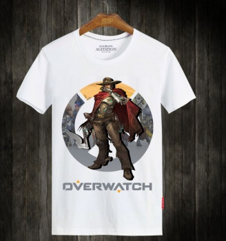 Overwatch OW Hero Mccree T-shirts