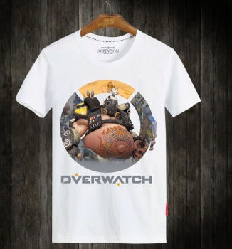 Overwatch Gaming Hero Shirts Roadhog Short Sleeve Tee