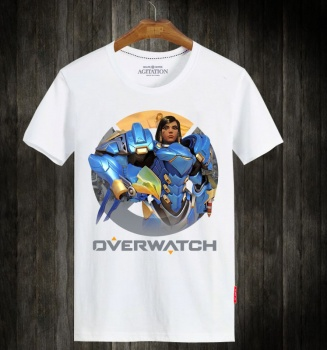 Overwatch OW Pharah T Shirts For Mens