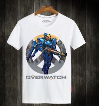 Overwatch OW Pharah Hero White T-shirts