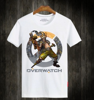 Overwatch Junkrat Hero Tshirts For Mens