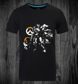 Overwatch Blizzard Reinhardt Tee Shirts