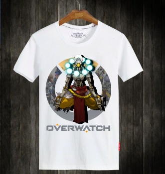 Overwatch Hero Tees OW Zenyatta T-Shirts