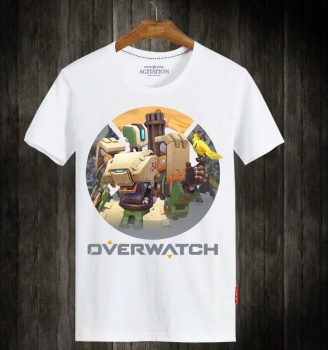 Overwatch OW Bastion Hero Unisex T-shirts