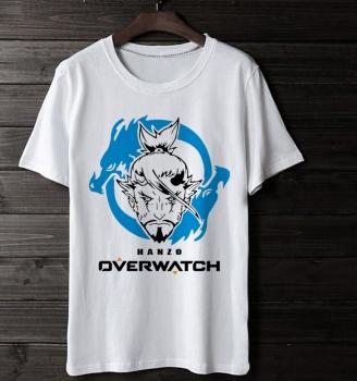 Overwatch Gaming Hanzo White Tshirt