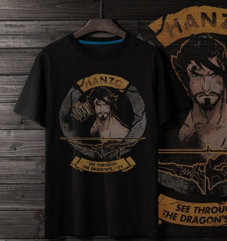 Over Watch OW Hanzo Tee Shirts
