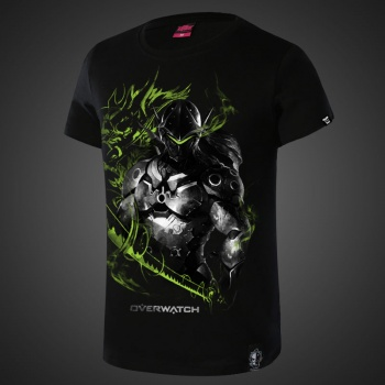Over Watch Genji Hero Tshirts For Boys