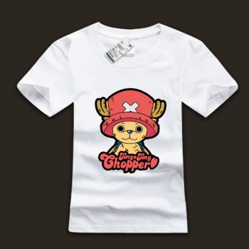 Lovely One Piece Tony Tony Chopper T-shirts For Young Men
