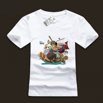 Quality One Piece Usopp White T-shirts For Mens