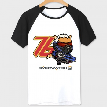 Overwatch Soldier 76 Tshirts White Unisex White Tees