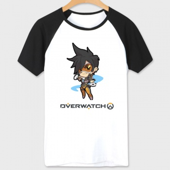 White Blizzard Overwatch Tracer T-shirt