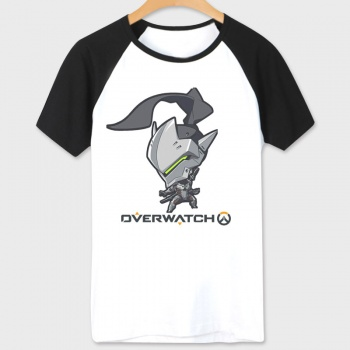 White Blizzard Overwatch OW Genji Tshirt For Couples