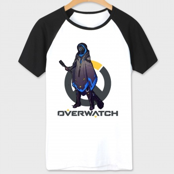 Over Watch Pharah Tshirt White OW Hero Tees For Couples