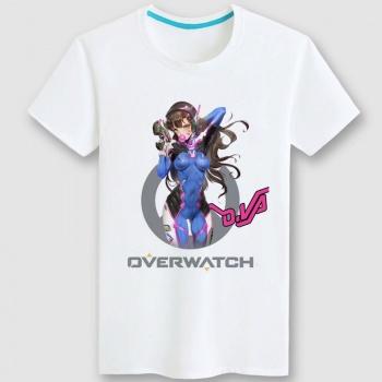 Lovely Overwatch D.Va Hero Tee For Mens Womens