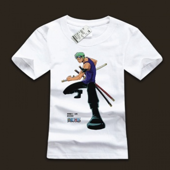 One Piece Captain Roronoa Zoro Men's T-shirts