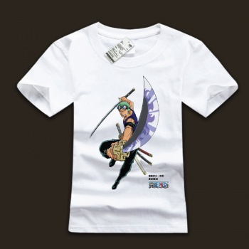 Roronoa Zoro One Piece Tshirts For Young Mens