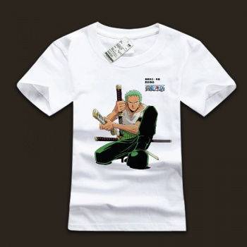 One Piece Roronoa Zoro Character T-shirts For Mens