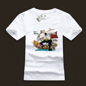 One Piece Roronoa Zoro Design T Shirts For Young Man