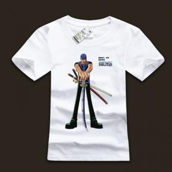 One Piece Roronoa Zoro Cotton Tees For Man