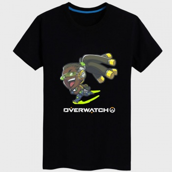 Overwatch lucio Shirt Women black Tshirts