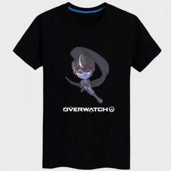 Overwatch Hero Tshirts Women black Tee